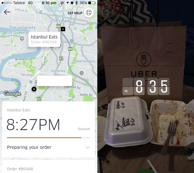 Uber finally